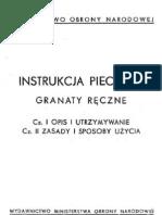 Polish Manual Grenades 1961