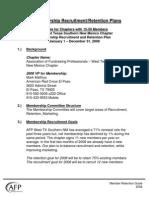 Sample Membership Recruitment-Retention Plans