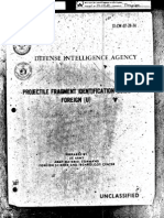 Projectile Fragment Identification Guide Foreign 19