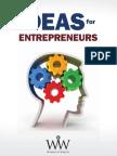 WIW Ideas for Entrepreneurs