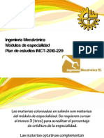 Especialidades IMCT 2013