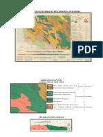 Peta Geologi Lembar Lubuk Sikaping