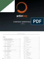 Active Loop Interactive TV content portfolio