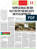 Knowledge hubs push realty development -Devanahalli