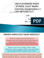 Seminar-Flavonoid Manggis