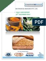 Daily Agri Report-18 Dec 2014
