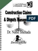 Construction Claims & Disputes Management