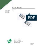 XBeee 865_868 LP Module User Guide