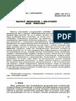 Pravilo Rezolucije i Relacijske Baze Podataka