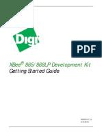 XBee 865_868 LP Development Kit