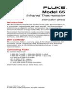 Fluke 65 User Manual