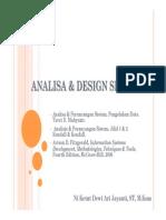 Pendekatan & Software Requirement