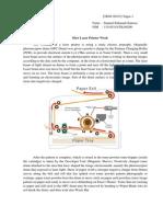 B.inggris Teknik - How Laser Printer Work