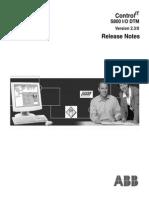 Release Notes S800 I/O DTM