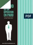 Diario de un opositor en paro, primeras páginas