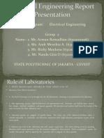 Electrical Engineering Report Presentation