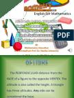English Mathematics UHAMKA