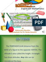 English Mathematics UHAMKA