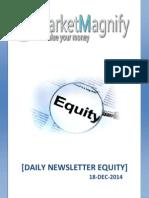 Equity Market News Letter for Trading