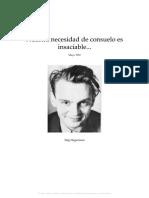 Nuestra Necesidad de Consuelo Es Insaciable, Stig Dagerman