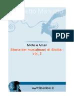 Amari Storia Dei Musulmani vol 2