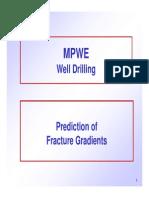 2-fracture gradients