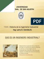 Historia Historia de La Ingeniería Industrial de La Ingeniería Industrial Ses.1