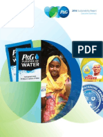 P&G 2014 Sustainability Report