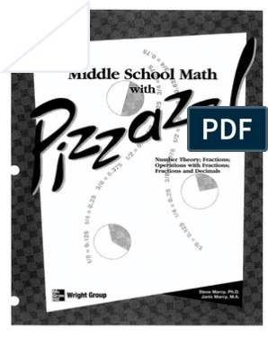pizzazz book c | Fraction (Mathematics) | Arithmetic