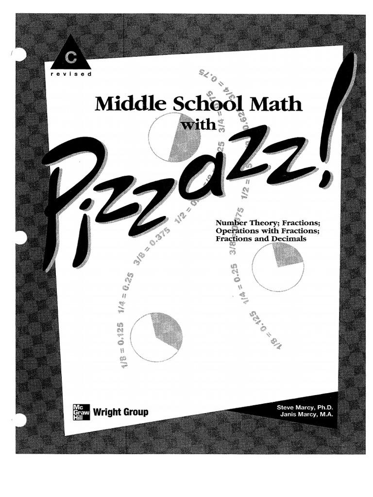 pizzazz book c   Fraction (Mathematics)   Arithmetic