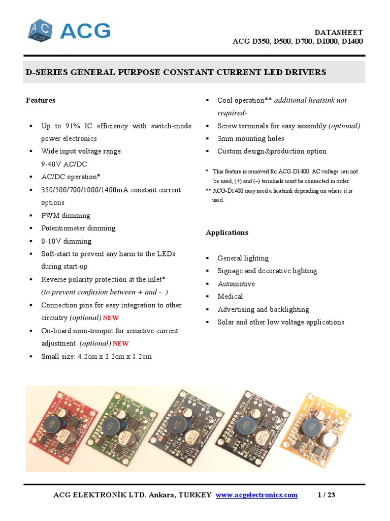 Power Constant Ledpdf Light Emitting Diode Series And Parallel Simple Pwm Using Sg3525 Circuits