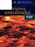 John Barrow-Originea Universului-Humanitas (2007)