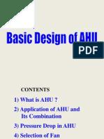 Basic Design of AHU (General)