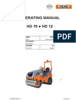 2.75tonne Rollers Hd12 Operating Manual