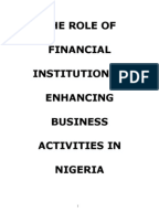 environmental factors affecting small scale business in nigeria Assessing the influence of external environmental factors, on the performance of small business manufacturing enterprises in bauchi state, nigeria mohammed alkali.