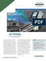 Bruker s1 Titan Mining