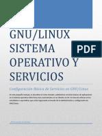 Linux Sistema Operativo y Servicios