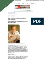 Lula é continuidade de FHC