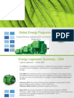 WEG Motor Global Energy Efficiency Legislations 2015 and Beyond Energyeffleg Training English