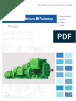 WEG Super Premium Efficiency Motors Usaspx11 Brochure English