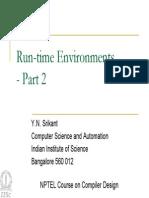 Run Time Environment