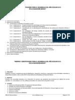 Normas y Orientaciones Para El Desarrollo Del Año Escolar 2015 en La Educación Básica