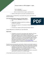 Documentos Necessários Para Emitir o ECARTAO