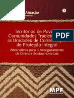 Manual de Atuacao Territorios de Povos e Comunidades Tradicionais e as Unidades de Conservacao de Protecao Integral