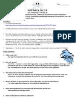 acid rain virtual lab worksheet autosaved