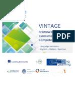 VINTAGE Framework of assessment of Key Competences