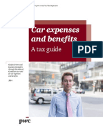 Pwc Tax Guide Car Expenses Benefits 2014-02-10