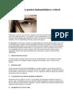 6 Soluţii Simple Pentru Îmbunătăţirea Vederii