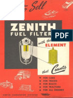 Zenith Carburetor Fuel Filters With Elements