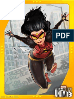 Exclusive Spider-Woman Game Art